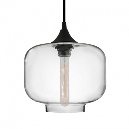 Edison Industrial Oculo Modern Pendant Light - Clear