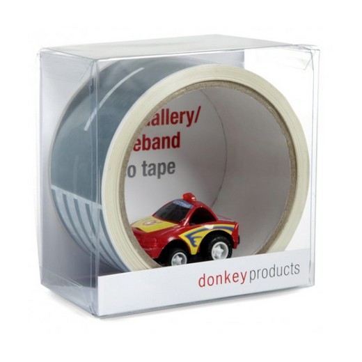 Donkey My First Highway Adhesive Tape with Toy Car