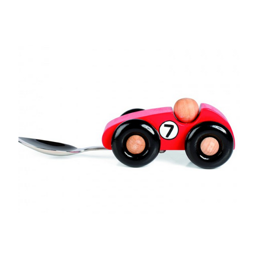 Donkey Kids First Spoon Racing Car - Red