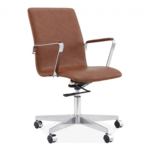 Cult Living Barclay Office Chair - Coffee