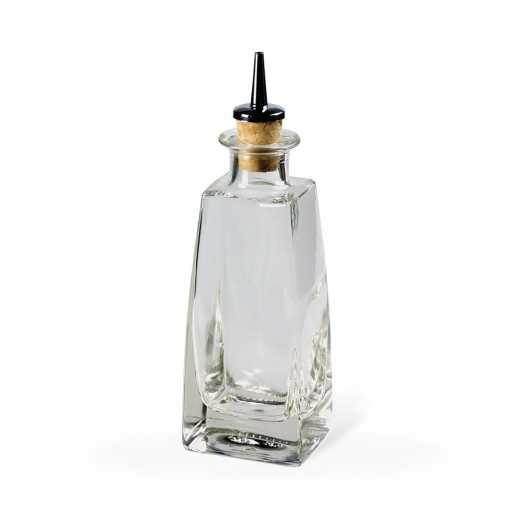Cult Living Futura Vintage Style Square Dash Bottle - 12cl