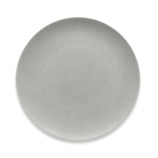 Cult Living Signature Flat Coupe Plate With Stone Effect - 20cm
