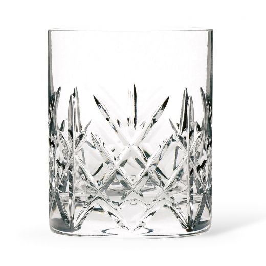 Cult Living Set of 6 Flamenco Double Old Fashioned Whisky Glasses - 32cl