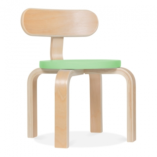 Cult Living Bella Kids Chair - Pastel Green