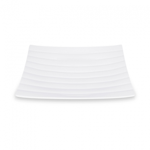 Cult Living Aston Deep Square Plate - 21cm