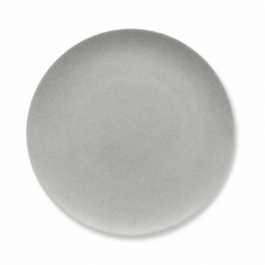 Cult Living Signature Flat Coupe Plate With Stone Effect - 26cm