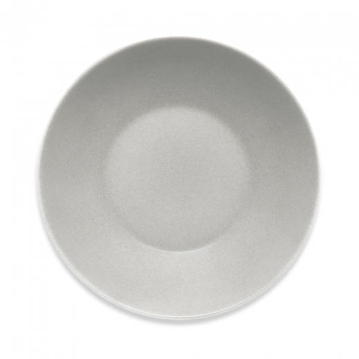 Cult Living Signature Coupe Deep Dinner Plate with Stone Effect - 24cm