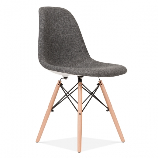 Iconic Designs Grey DSW Chair (Fabric Upholstered)