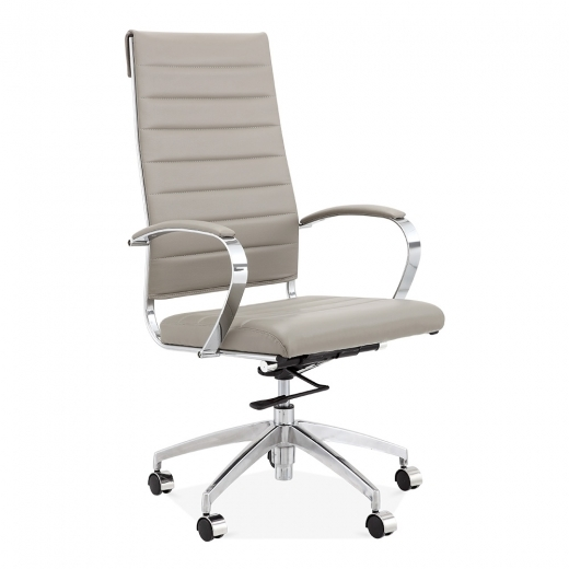Cult Living Deluxe High Back Office Chair - Smokey Grey