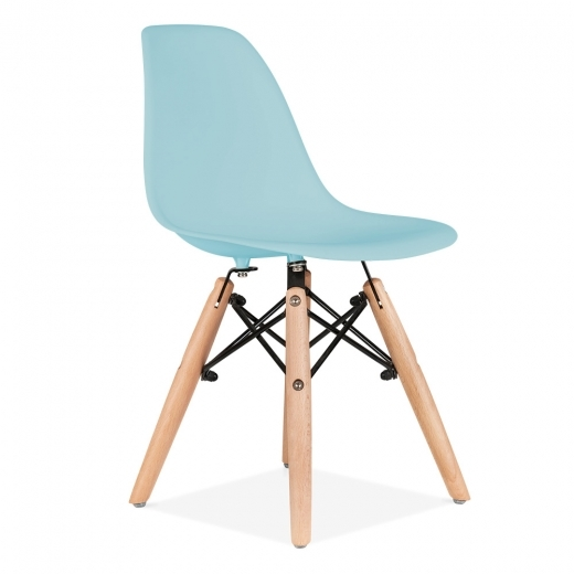 Iconic Designs Kids DSW Chair - Light Blue