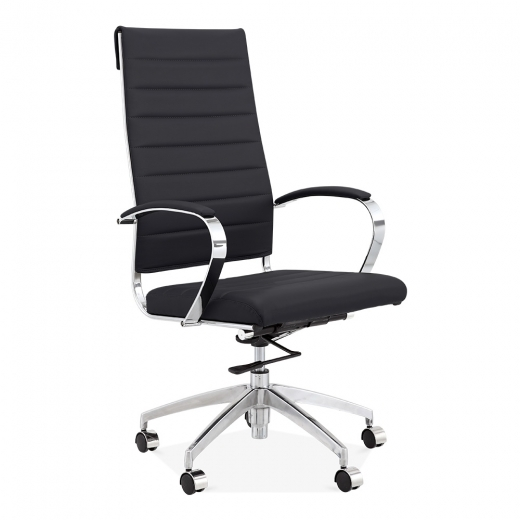 Cult Living Deluxe High Back Office Chair - Black