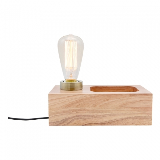 Cult Living Newton Wood Table Lamp – Natural