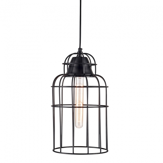 Cult Living Downtown Cage Pendant Light - Black