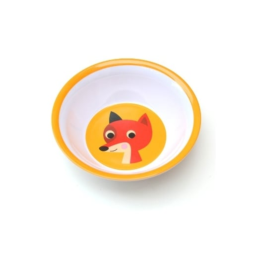 OMM Ingela P Arrhenius Fox Melamine Bowl - Orange