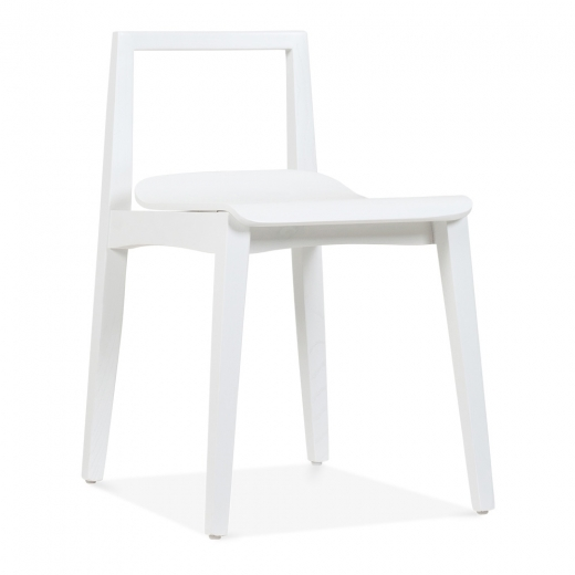 Cult Living Hip Dining Chair - White - Clearance Sale
