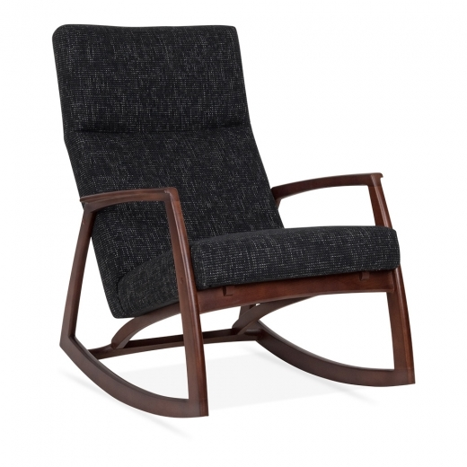 Cult Living Stanley Rocking Chair - Dark Grey