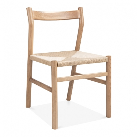 Danish Designs Knightsbridge Dining Chair - Natural / Natural Seat