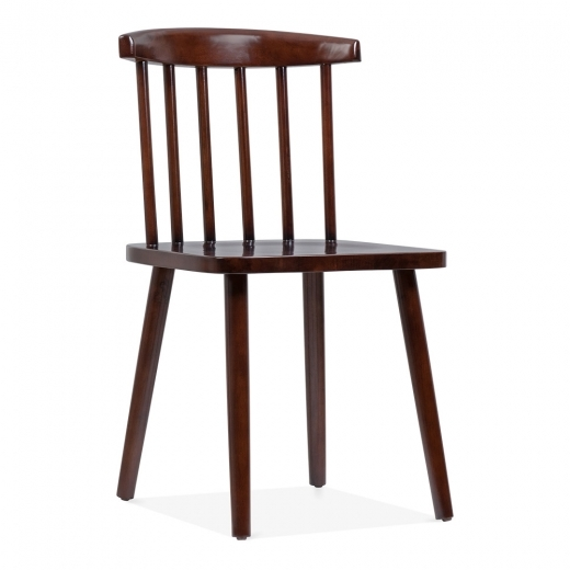 Cult Living Windsor Low Back Bistro Chair - Brown