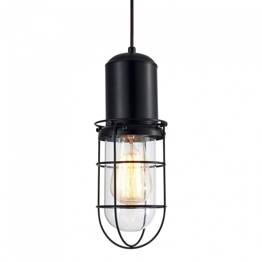 Cult Living Portside Caged Pendant Light - Clear
