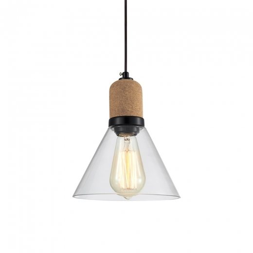 Cult Living Akira Cone Pendant Light - Clear