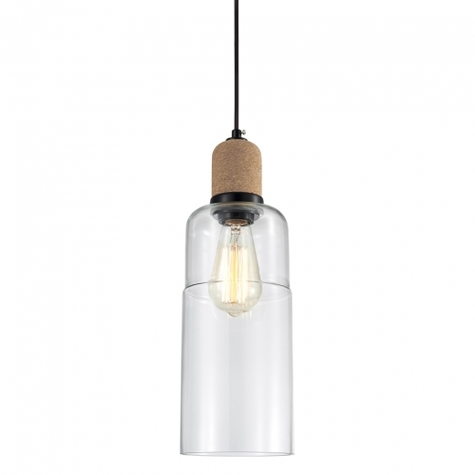 Cult Living Akira Tubular Pendant Light - Clear