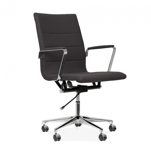 Cult Living Ellington Office Chair in Cashmere - Dark Grey