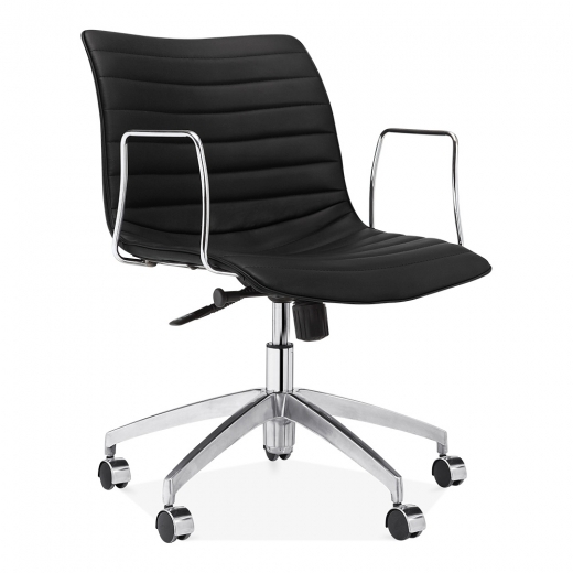 Cult Living Ortega Low Back Office Chair - Black
