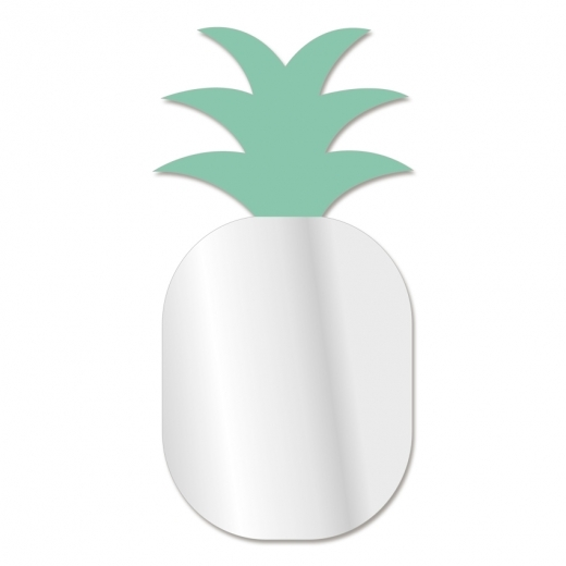 Cult Living Kids Pineapple Shape Wall Mirror