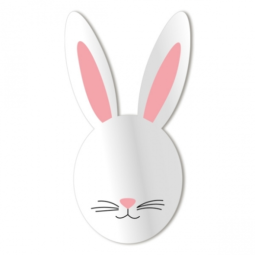 Cult Living Kids Bunny Face Wall Mirror
