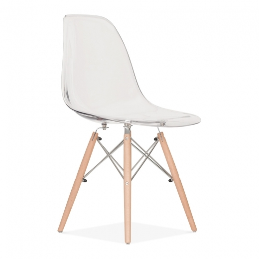 Iconic Designs DSW Style Transparent Chair