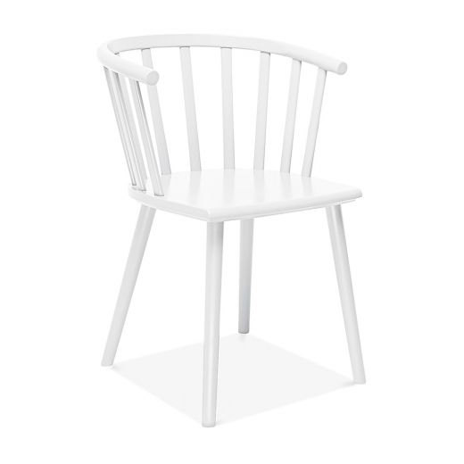 Cult Living Busket W. Style Wooden Dining Armchair - White