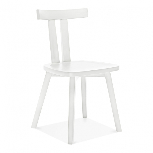 Cult Living Rua Wooden Dining Chair - White