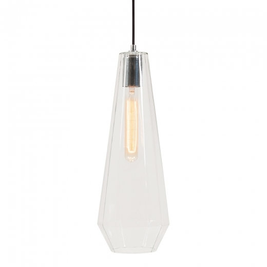 Cult Living Sonna Cone Glass Pendant Light - Clear