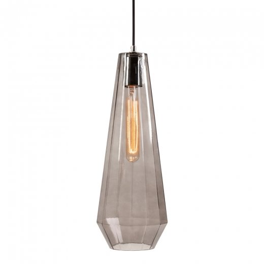 Cult Living Sonna Cone Glass Pendant Light - Black