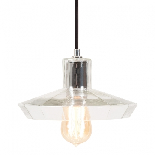 Cult Living Sonna Round Glass Pendant Light - Clear