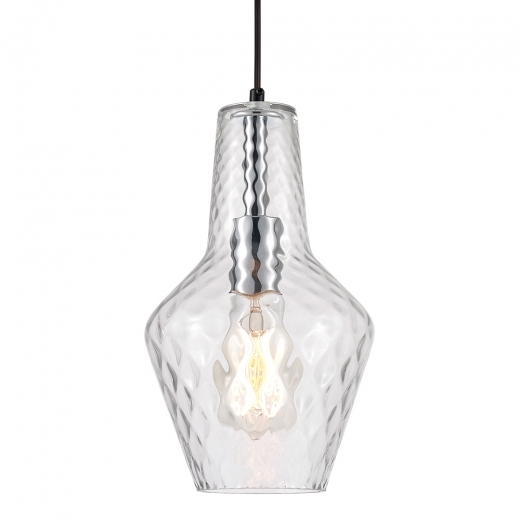 Cult Living Bardot Glass Pendant Light - Clear