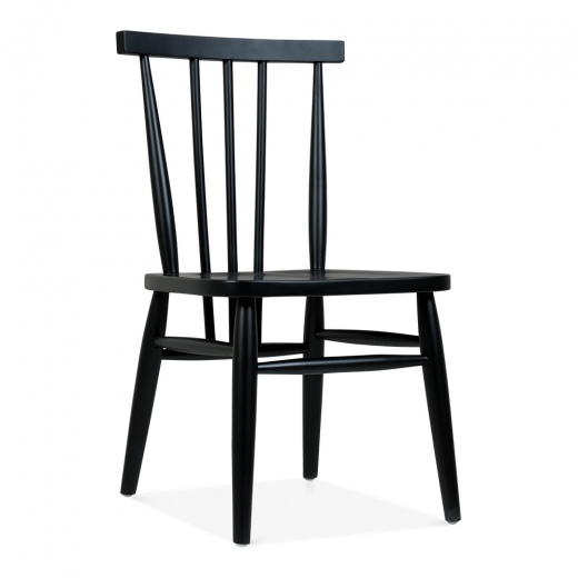 Cult Living Windsor Hazel Dining Chair - Black - Clearance Sale