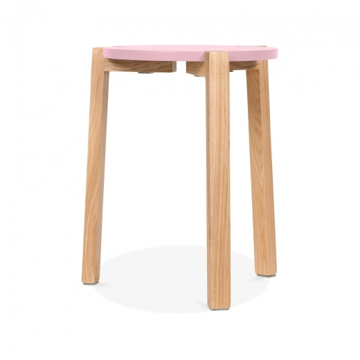 Cult Living Jepsen Stool - Pastel Pink - Clearance Sale