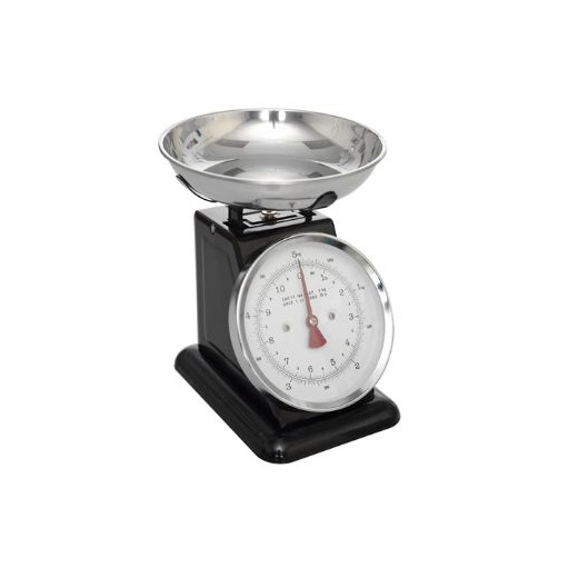 Rex Retro Kitchen Scales - Black