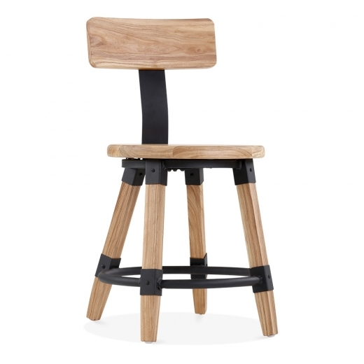 Cult Living Bastille Round Wooden Dining Chair - Natural