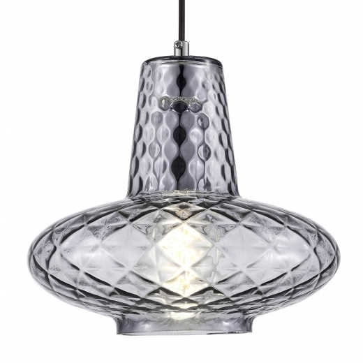 Cult Living Monroe Glass Pendant Light - Black