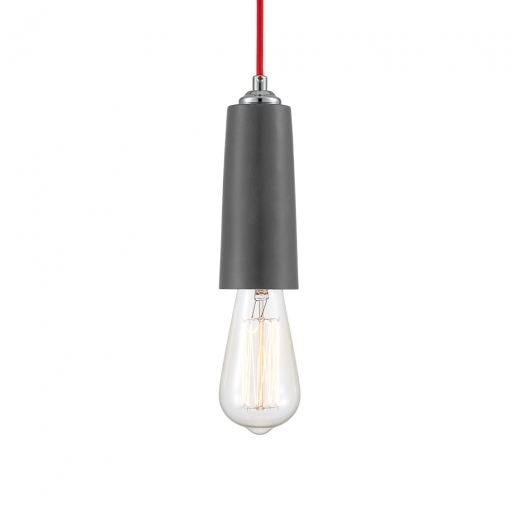 Cult Living Slim Concrete Long Pendant Light - Grey - Clearance Sale