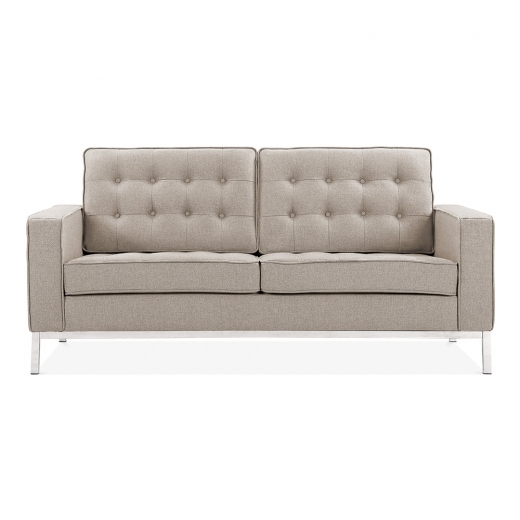 Cult Living Riley 2 Seater Sofa - Cream