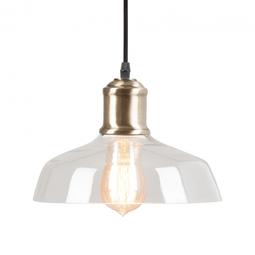 Cult Living Momo Glass Pendant Light - Clear