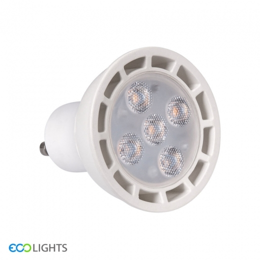 ECO Lights 7W LED SMD Dimmable Spotlight Bulb - GU10