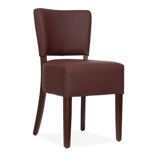 Cult Living Borza Upholstered Dining Chair - Brown