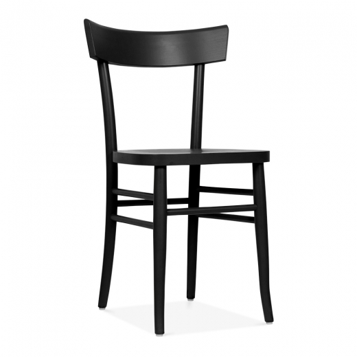 Cult Living Baylor Wooden Dining Chair - Black