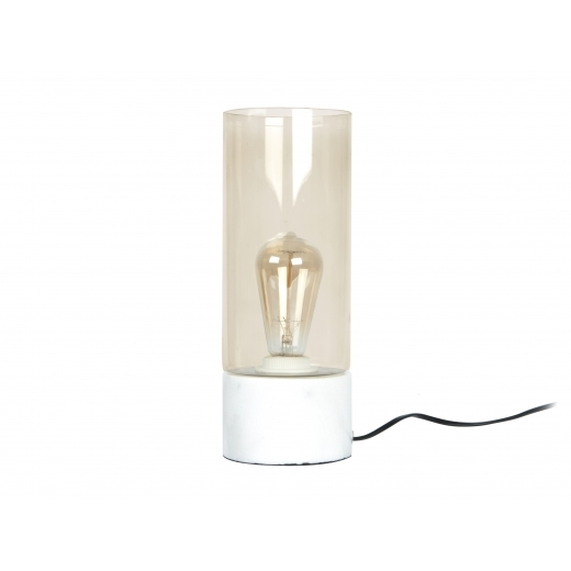 Present Time Lax Table Lamp - Marble