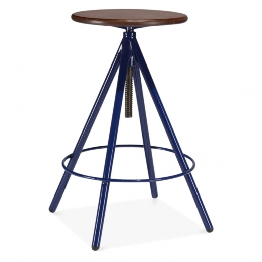 Cult Living Curzon Metal Swivel Stool