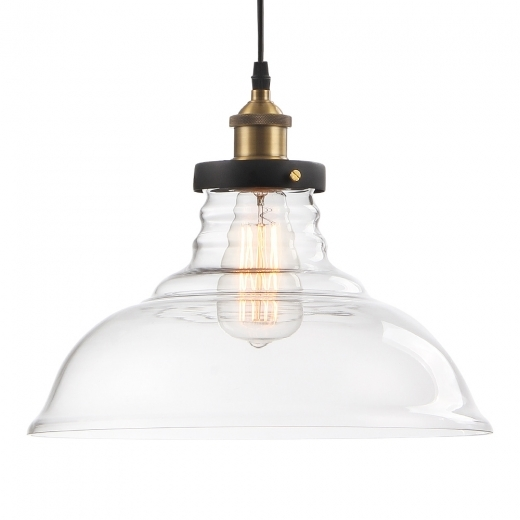 Cult Living Factory Glass Dome Large Pendant Light - Clear - Clearance Sale